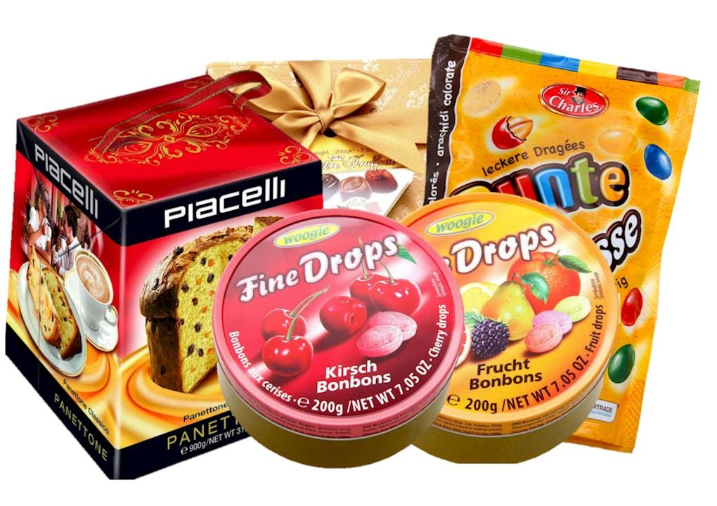 Productos de dulces y caramelos Kremers