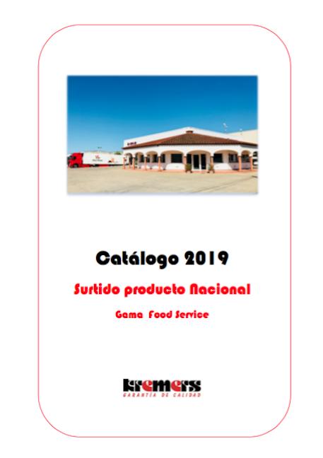 catálogo food service charcutería nacional