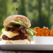 Hamburguesas bio y veganas: el futuro ya está aquí.